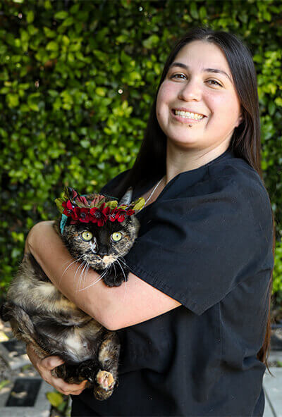 brittney arrowood veterinary assistant at newport harbor animal hospital