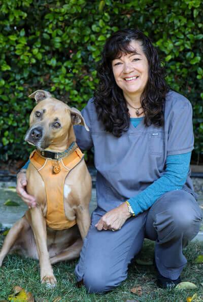 Debbie Tamayo technician of Newport harbor animal hospital