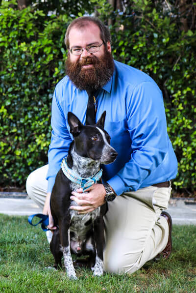 Dr. Chris Bates of Newport harbor animal hospital